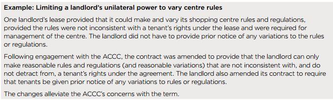 Unfair contract term 2