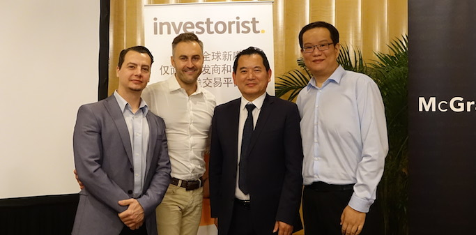 Jon Ellis Investorist event China