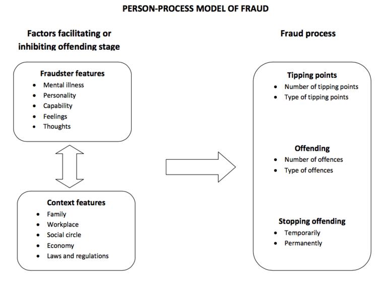 Fraud person-process model