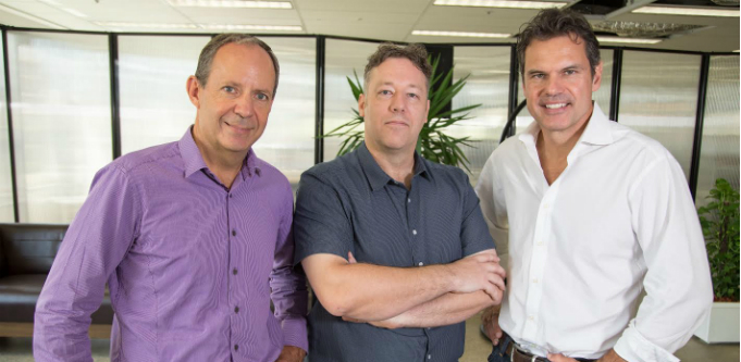 Investfit founders James Claridge. Gavin Daw and Ed de Salis