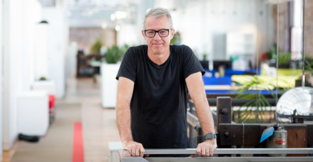 Pollenizer co-founder Phil Morle