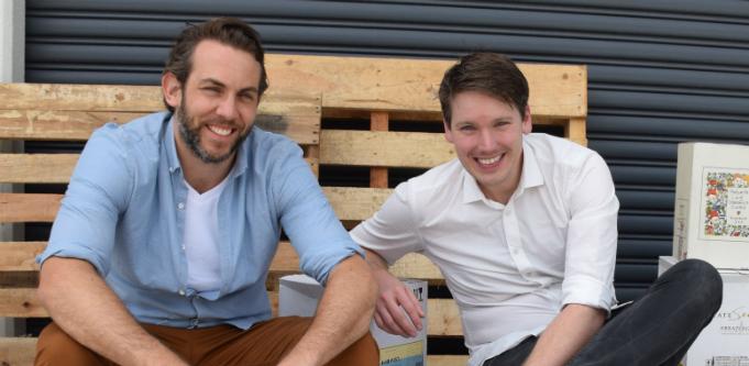 The Wine Gallery founder Tom Walenkamp and co-founder Banjo Harris Plane