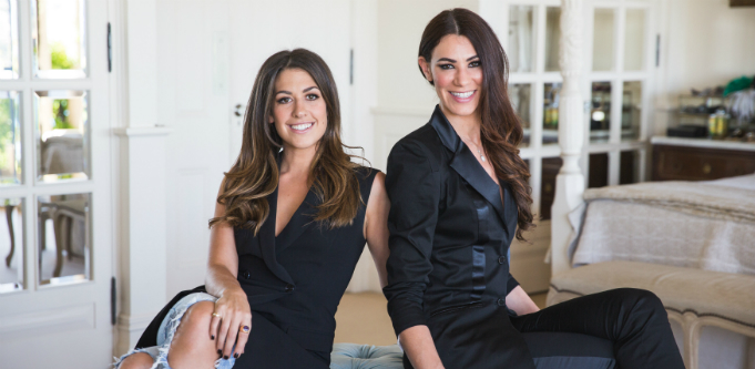 Glamazon founders Lauren Silvers and Lisa Marie