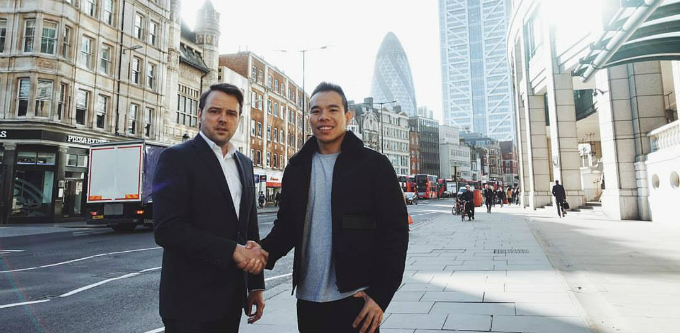 Janders Dean founder Justin North and Law Advisor founder Brennan Ong