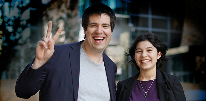 Tekuma co-founders Michael Griffin and Annette McClelland [Photo by: Rosary Coloma]