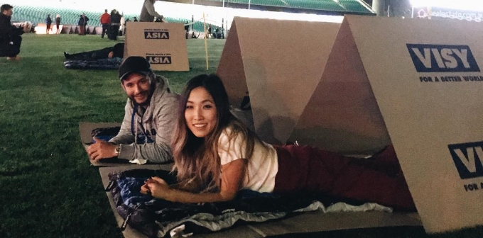 Jane Lu at CEO Sleepout