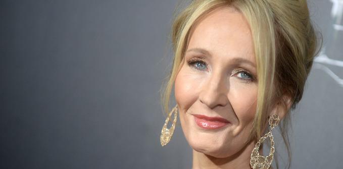 Harry Potter creator JK Rowling