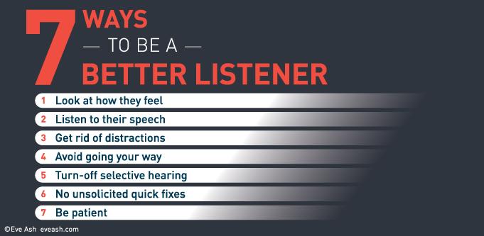 Eve Ash better listener