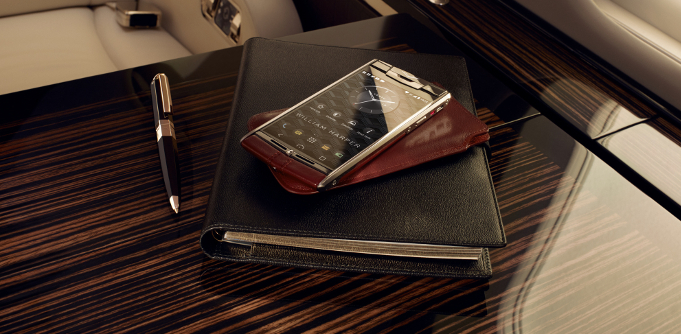 Vertu phone luxury