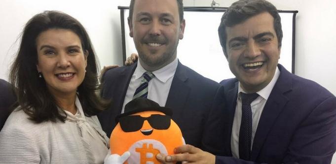 Jane Hume, Sam Dastyari, Bitcoin, blockchain