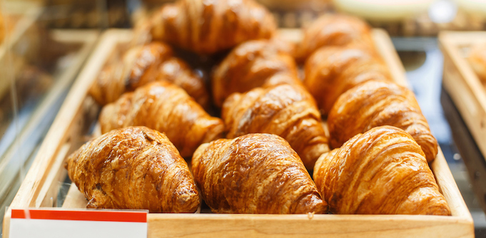 Croissants butter