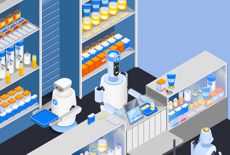 Replacing pharmacists with robots isn't the answer to better productivity
