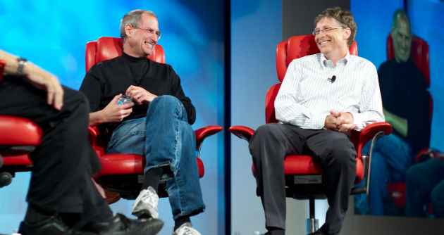 Steve Jobs and Bill Gates leadership