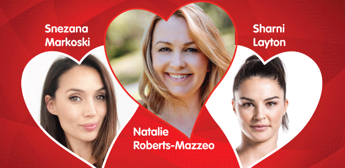 variety women with heart