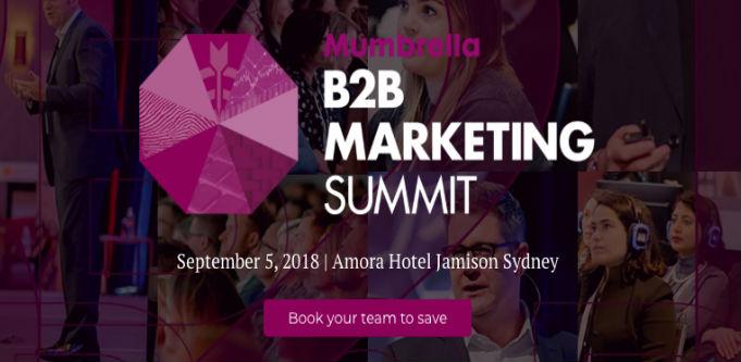mumbrella b2b marketing summit