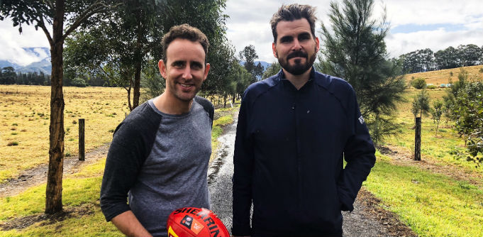 Flare co-founders Dan Cohen and James Windon. Source: Supplied.