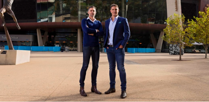 Pickstar co-founders James Begley and Matthew Pavlich. Source: Supplied.