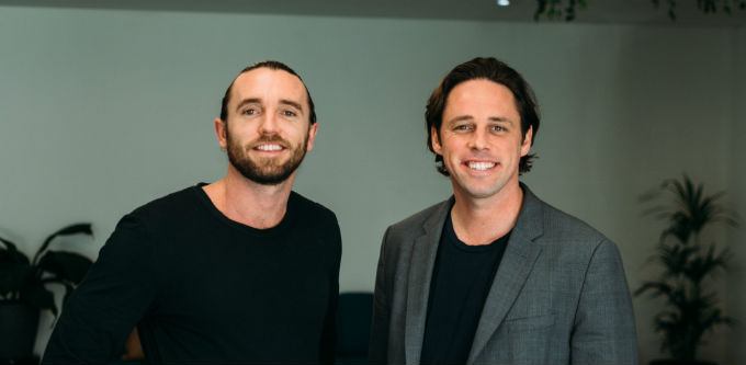 Roller founders Luke and Mark Finn. Source: Supplied.