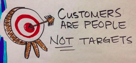 customers not targets