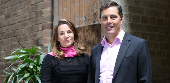 NAB Ventures general partner Melissa Widner and managing director Todd Forest. Source: Supplied.