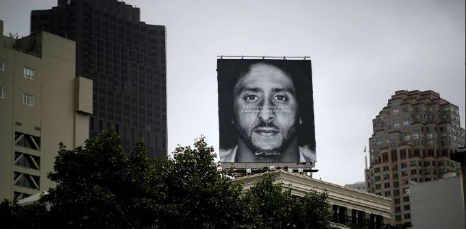 Nike ad Colin Kaepernick