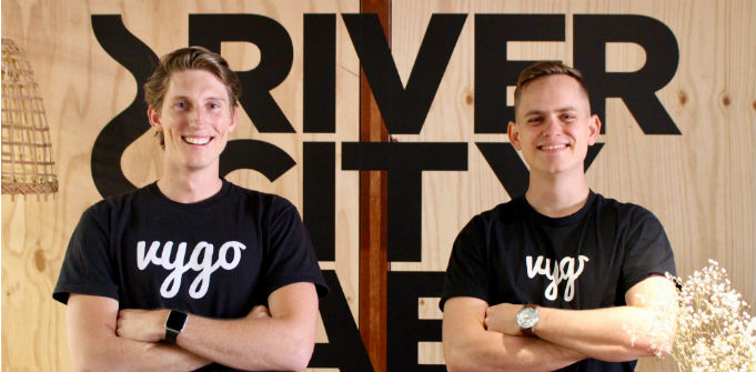 Vygo Co-Founders Joel Di Trapani and Ben Hallett. Source: Supplied.