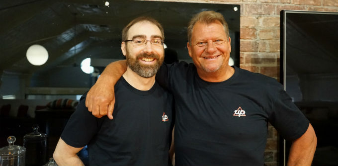 Up co-founders Dom Pym and Grant Thomas