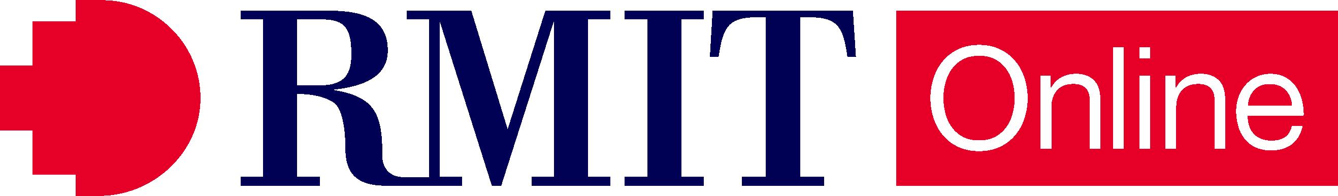 RMIT Online Primary Logo - Digital Colour RGB