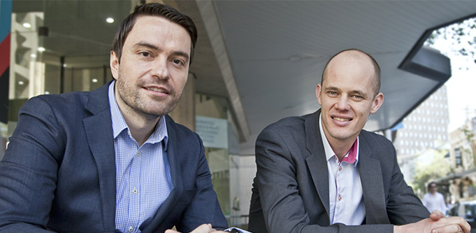 FlexCareers co-founders