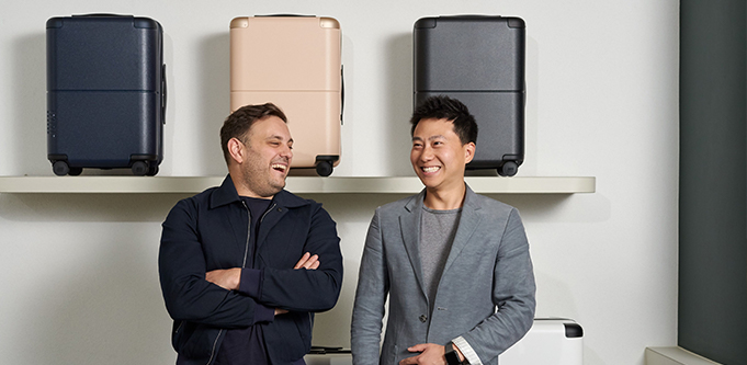 July luggage founders