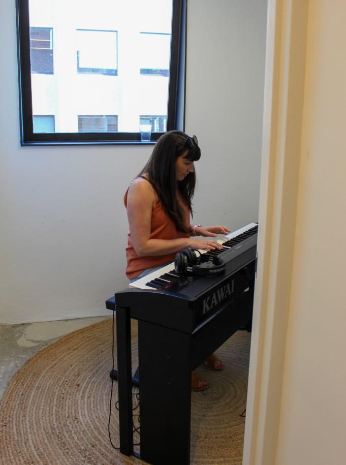 Canva music room