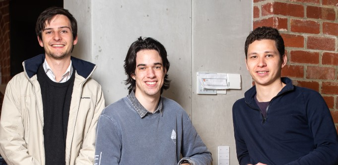 Strong Room co-founders Chris Durre, Kieran Start and Max Mito
