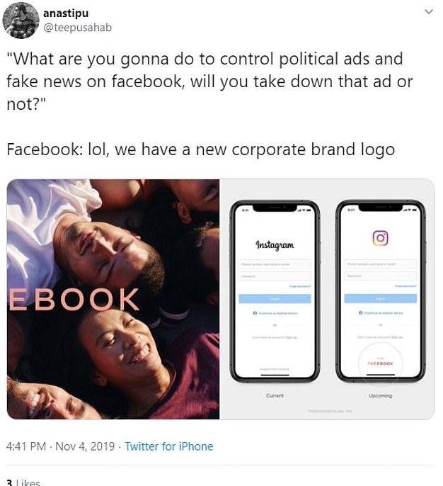 Facebook rebrand meme