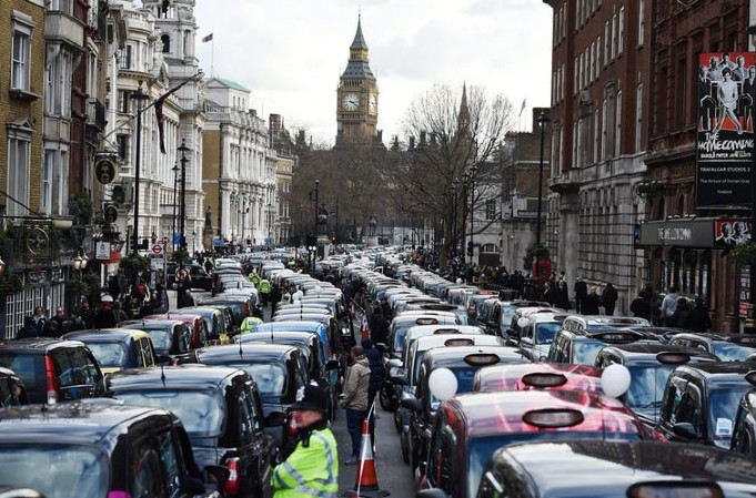 London cab drivers