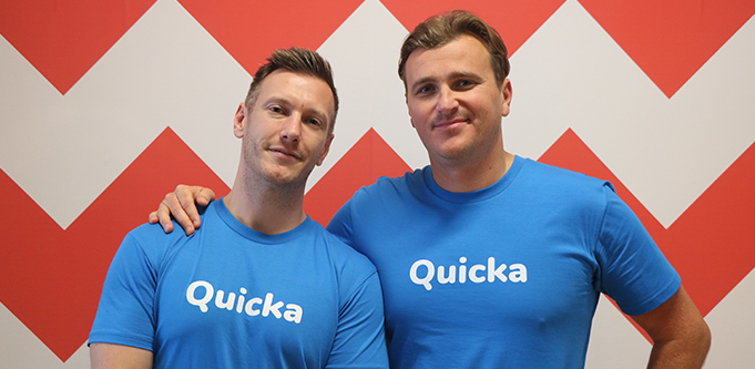 Quicka co-founders