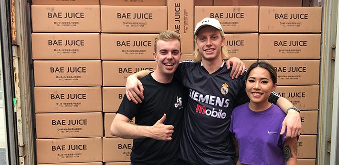 Bae Juice co-founders