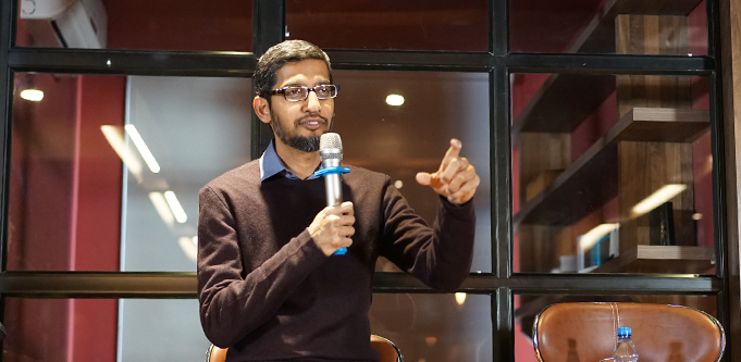 Google chief Sundar Pichai