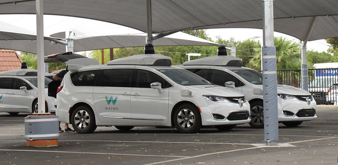 Google self driving car Waymo