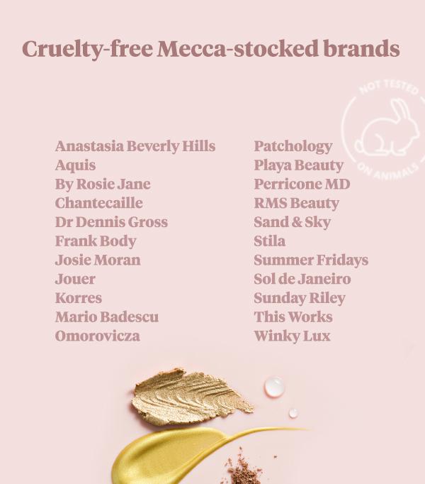 Mecca cruelty free