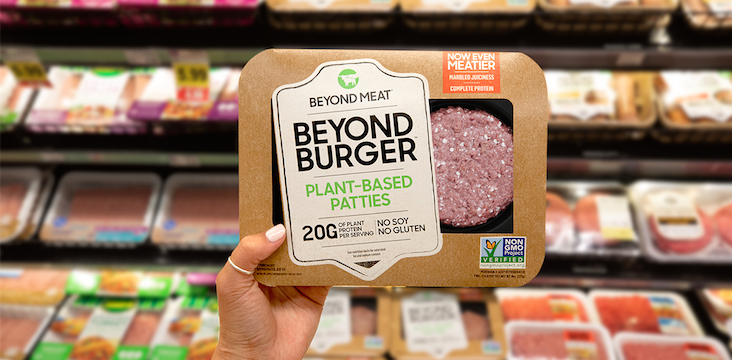 Beyond Meat plant-based food
