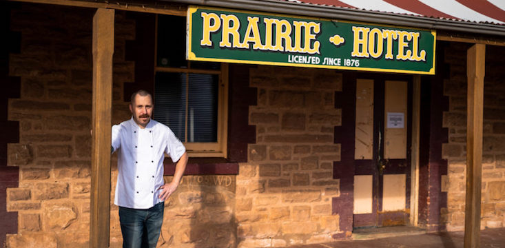Owners of the Pairie Hotel in outback South Australia are bringing their business to Adelaide.The