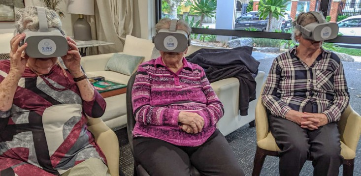 aged-care-residents-using-SilVR-Adventures-tech