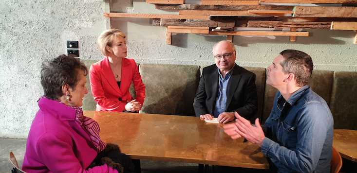 Michaelia Cash Peter Strong Pru Goward David Alcorn Go Local First