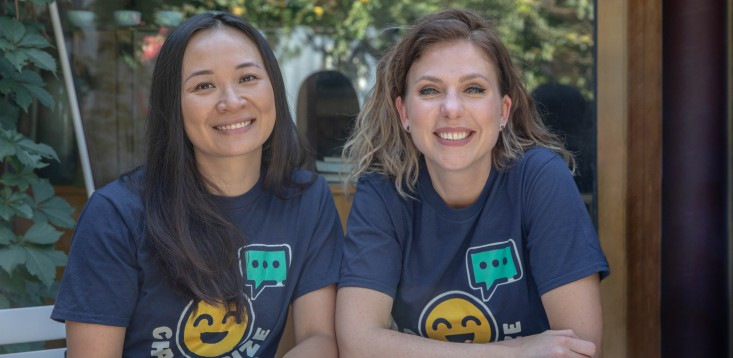 Chatterize co-founders Beleza Chan and Lane Litz