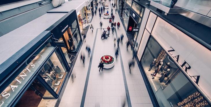 shopping centre vacancies