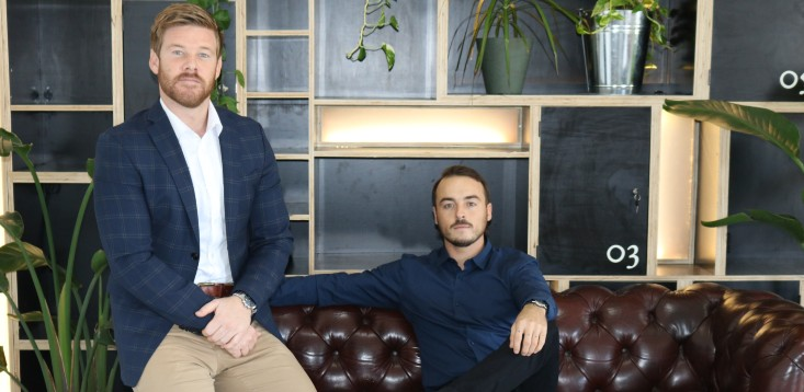 Balfour Homes co-founders James Mullany and Elliot Hayes