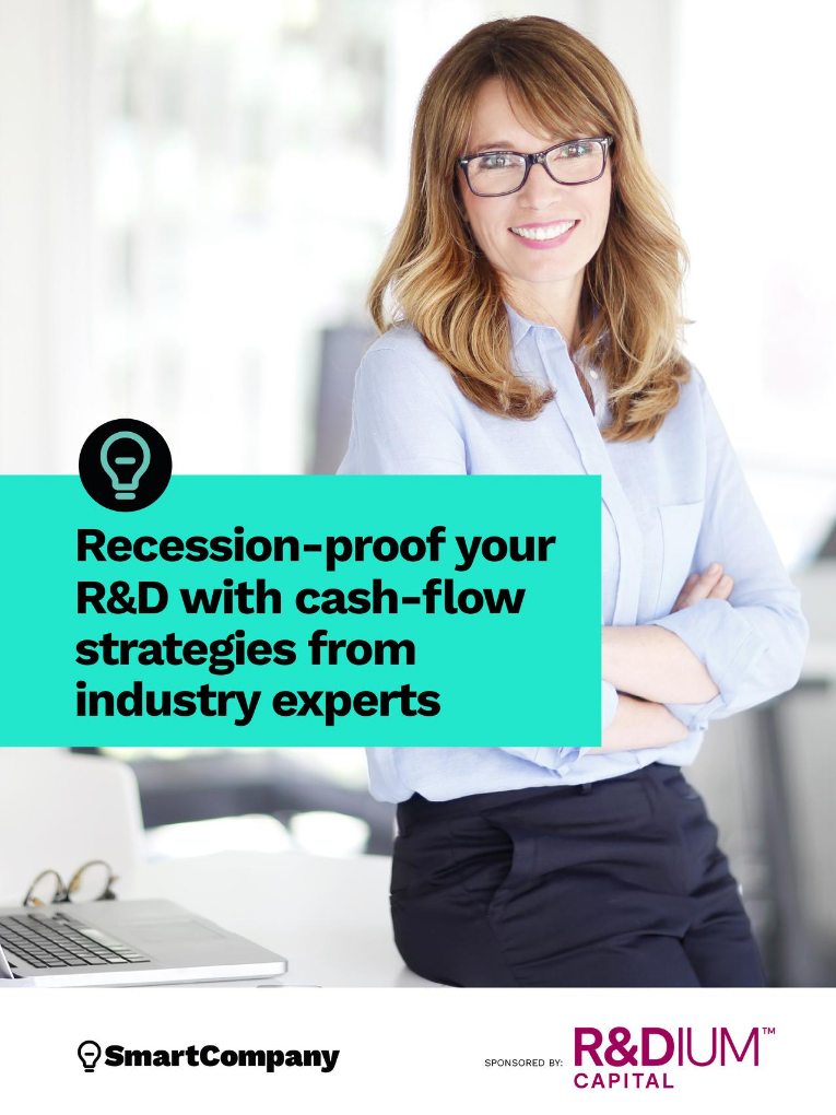recession-proof your r&d