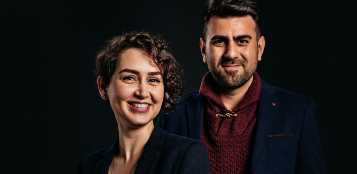 See-Mode co-founders Dr Sadaf Monajemi and Dr Milad Mohammadzadeh