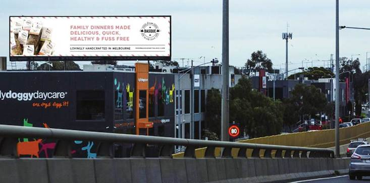 From Basque with Love billboard