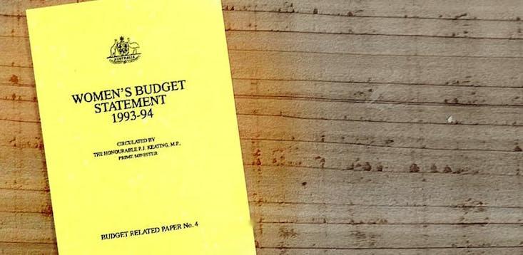 women's budget statement